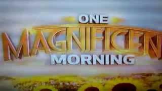 una magnífica mañana en la CW ID