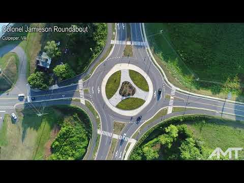 Colonel Jamieson Roundabout, Culpeper, VA