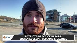 Patriots Practice Report: Julian Edelman Remains Sidelined