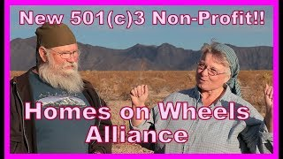 �������� ���� 501(c)3--Homes on Wheels Alliance Non Profit ������