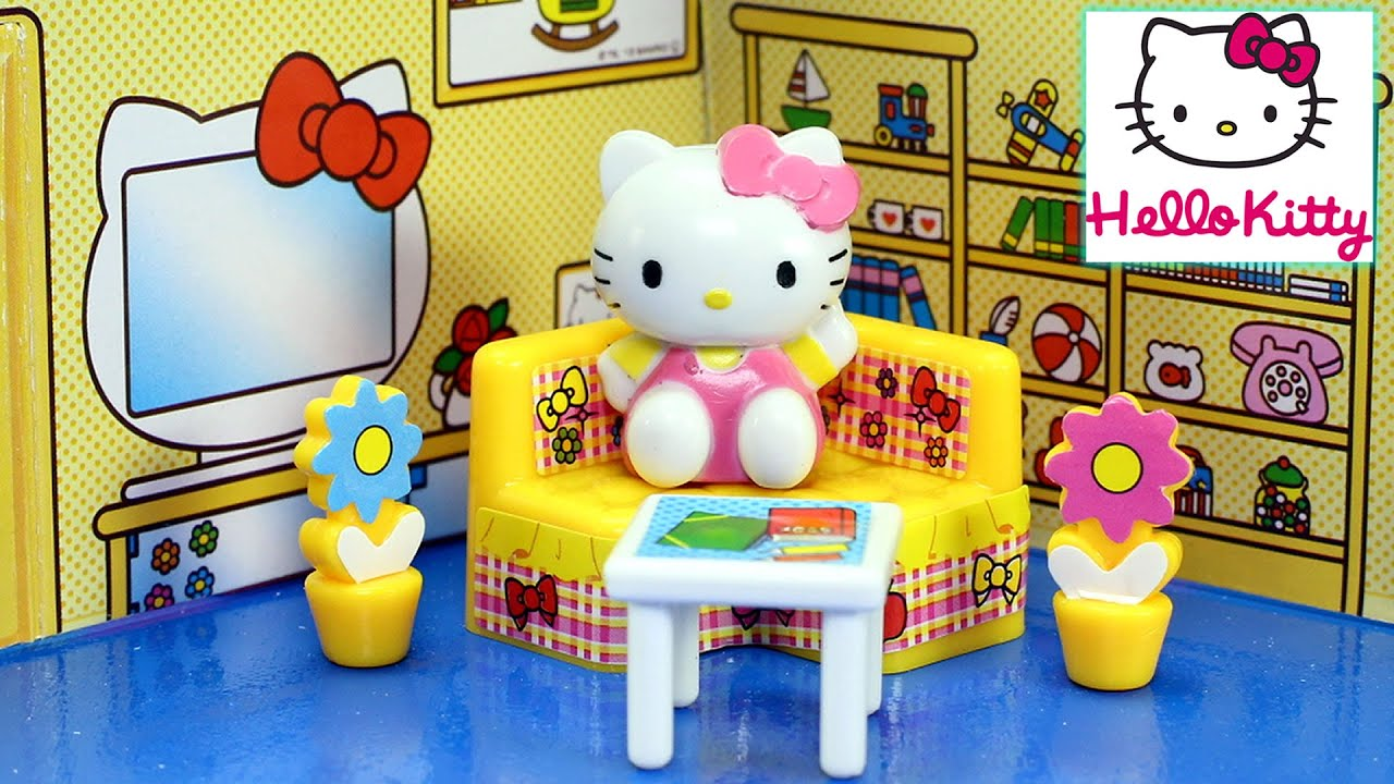Toy Hello Kitty Watch : Hello kitty mini toy house for kids │cute toys