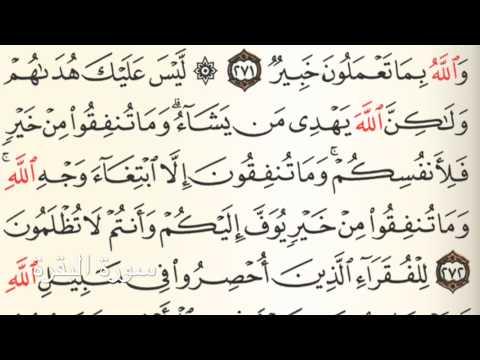 سورة البقرة Holy Quran Chapter 2 Page 46 Youtube