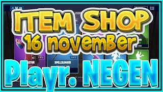 Fortnite ITEM SHOP 16 November *NIEUW* ELMIRA en CASTOR SKIN -+- Playr NEGEN -+-