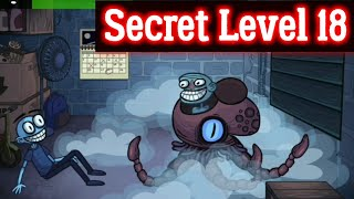 Troll Face Quest Horror 2 Secret Level 18 Solution hint walkthrough