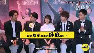 [ENGSUBS] Idol Life Interview - Dylan Wang (王鹤棣)'s Cut