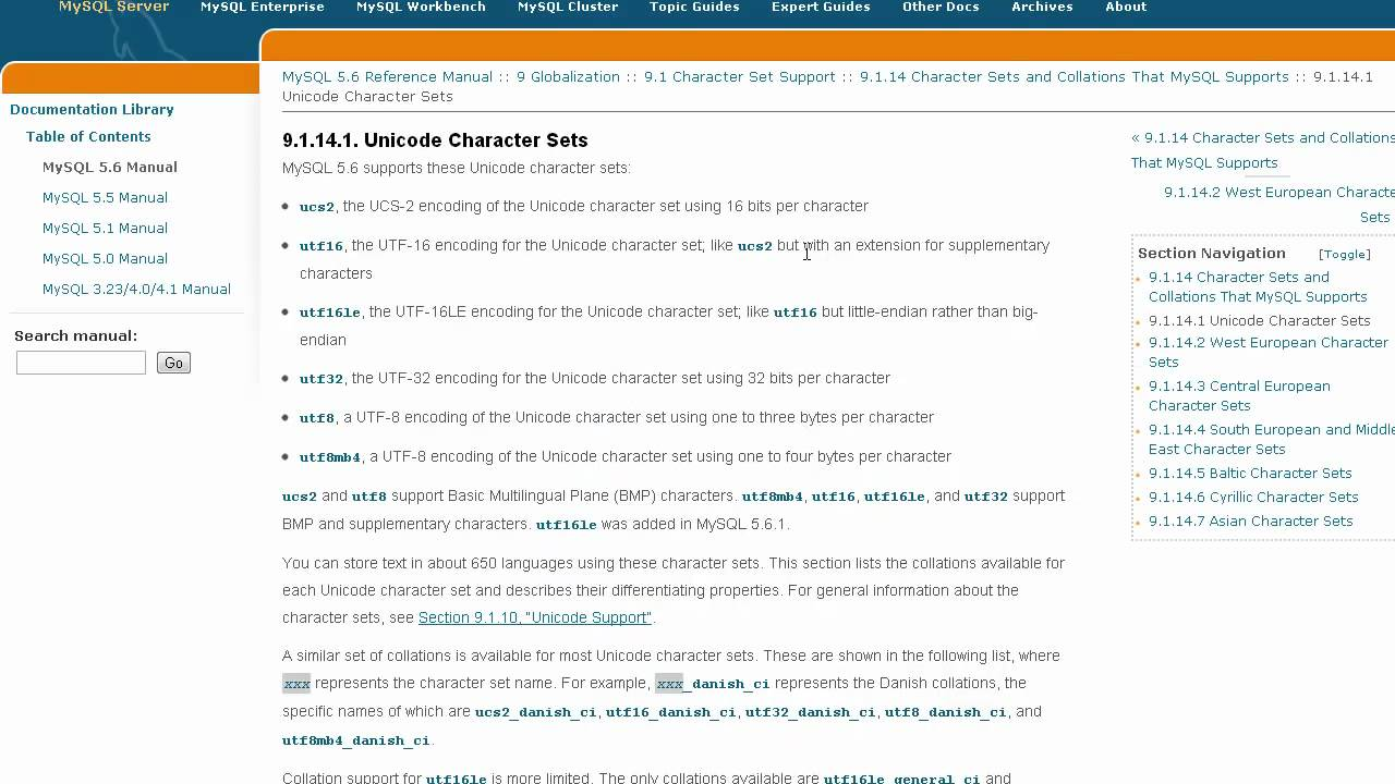 MySQL Database Tips #1- Collations and Character Sets
