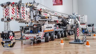 Lego Technic Liebherr LTM 11200 Crane Final Test MOC by Jeroen Ottens