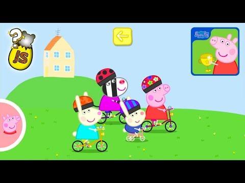 Un Día de Deporte Peppa Pig en Español Castellano - Videos de Juegos para Niños de Pepa la Cerdita - 동영상