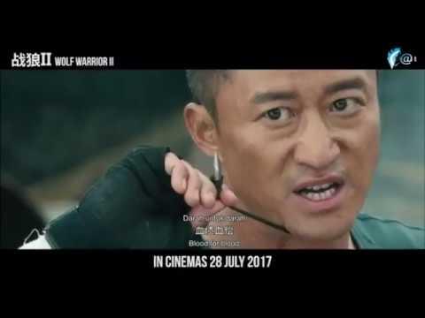 Chiến lang 2 của Ngô Kinh phá vỡ kỷ lục phòng vé Trung Quốc (train ner )