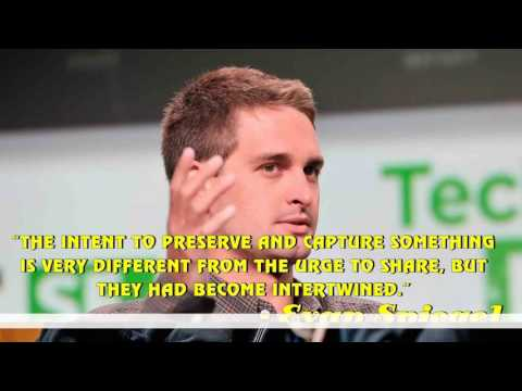 Top 25 famous quotes and sayings from Evan Spiegel - YouTube