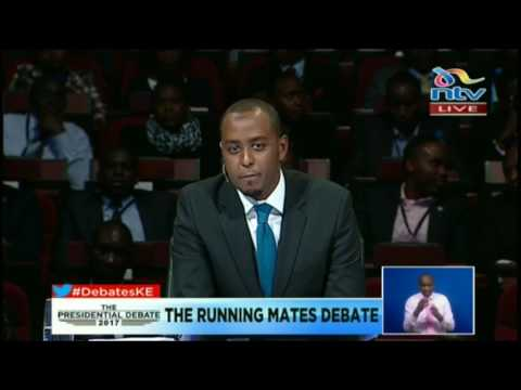 Debates Media Ltd declares a no show on the inaugural running mates debate #DebatesKE