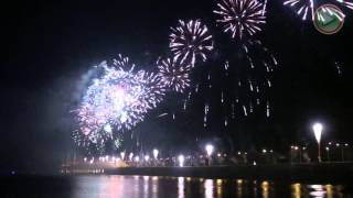 Penang 2nd Bridge Official Opening Fascinating fireworks Display
