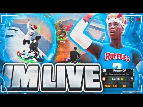 🚨NBA 2K19 POWER DF + GRINDING DF GOING ON A 100 GAME WIN STREAK AT PARK! BEST JUMPSHOT & BUILD thumbnail