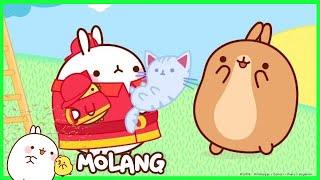 Molang - The Firemen | Cartoon for kids