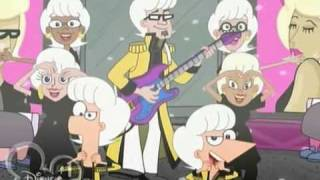 Phineas and Ferb - Love Händel Bass guitar - Fabulous