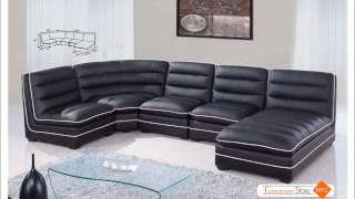 Modern Sectionals, Leather Sectional Sets By New York City Furniture