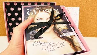 Glossybox Mai 2016 unboxing