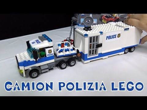 LEGO City Police Mobile Command Center - Leo Toys