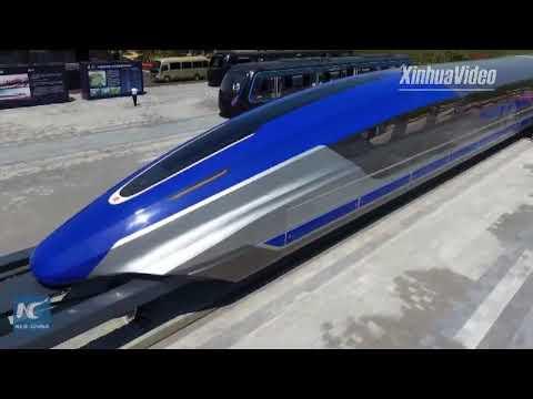 El tren comercial mas rápido del mundo