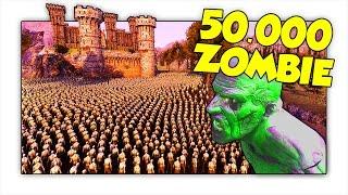 50.000 ZOMBIE ATTACCANO LA FORTEZZA FORTIFICATA! - Ultimate Epic Battle Simulator ITA (UEBS)