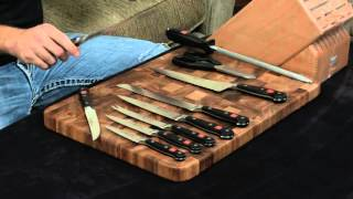 Wusthof Classic 16 Piece Knife Block Set — Review and Information.