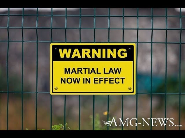 AMG: America Is Ready For Medical Martial Law :  It's Not About a VIRUS...