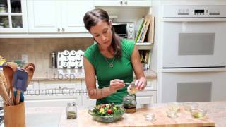 Delicious Tips - Coconut Comfort Tahini Dijon Salad Dressing