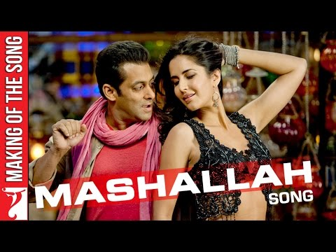 Making Of The Song - Mashallah | Part 1 | Ek Tha Tiger | Salman Khan | Katrina Kaif