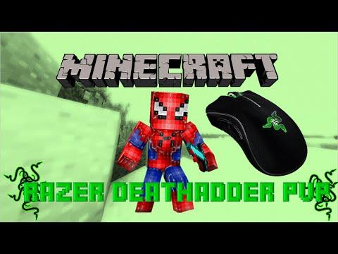 Minecraft PvP + Razer Deathadder!