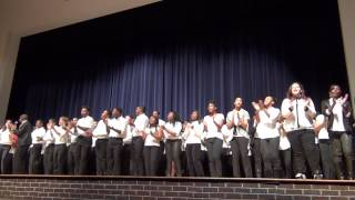 "Mr. Craig Robertson with SCHS Chorus (Cover) ""Yes You Can"" by Donnie Mcclurkin .mpg"