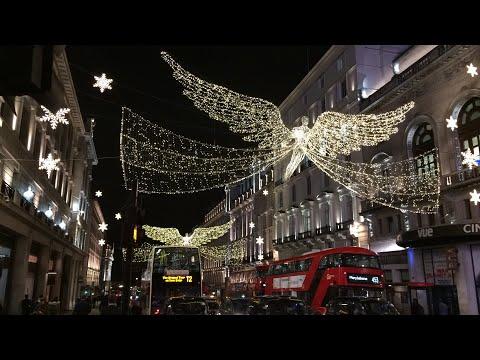 Regent Street Christmas Lights 2017 Gone Wrong