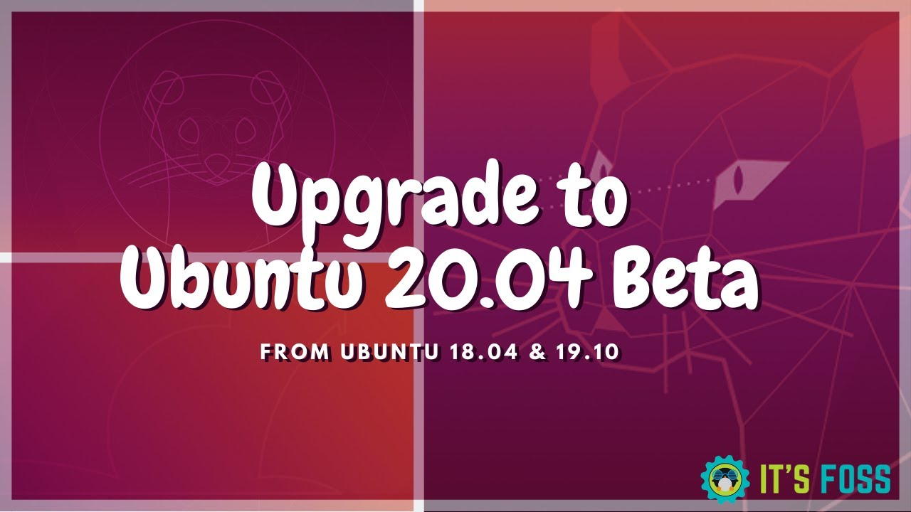 How to Upgrade to Ubuntu 20.04 Beta from 18.04 & 19.10 Right Now