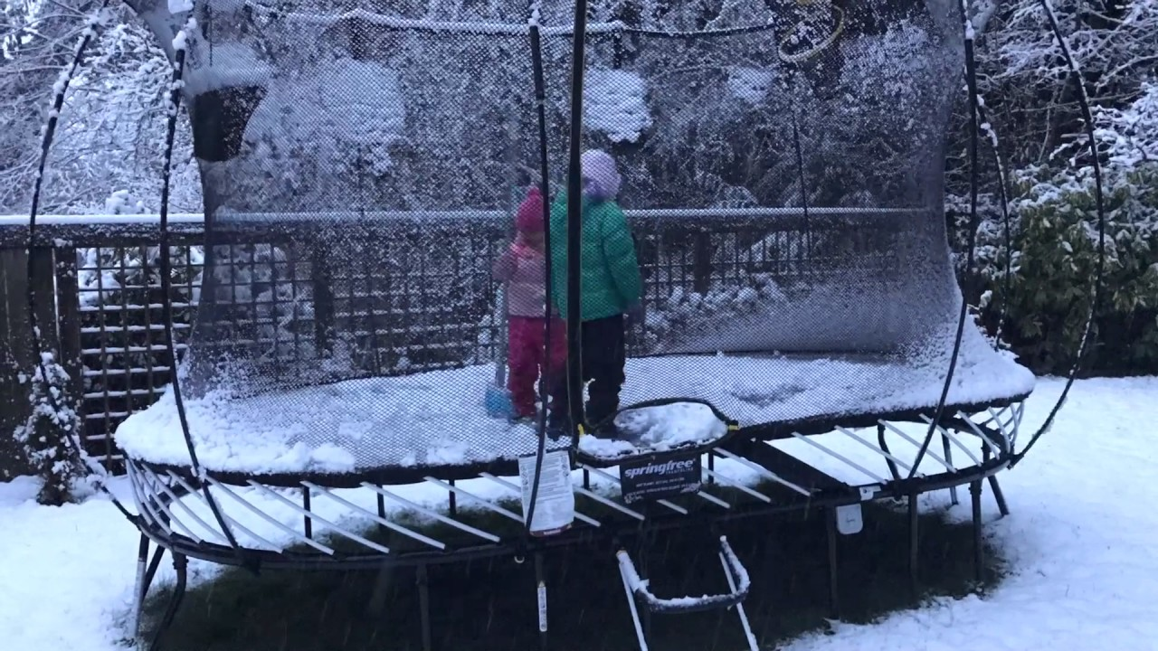 Trampolin Winter