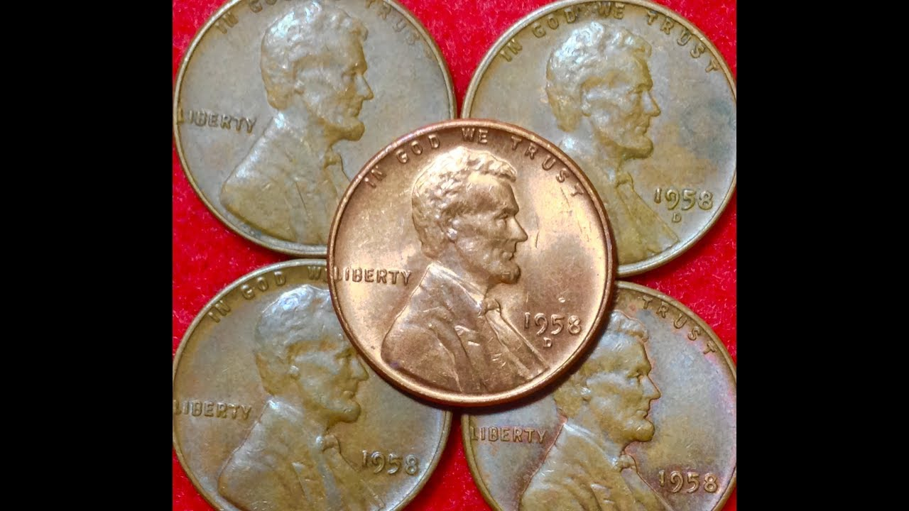 1958 Wheat Penny - Doubled Die Error Coin Sold For ...
