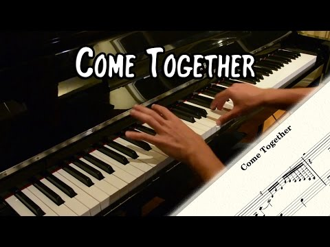 The Beatles - Come Together (piano cover & free sheet music)