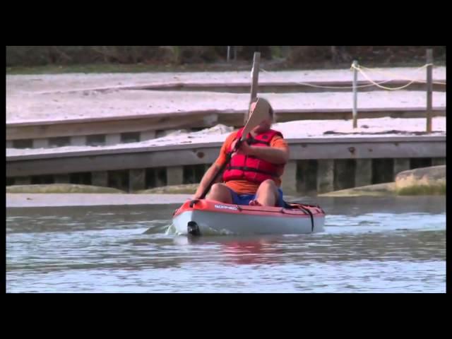 Bic kayak Borneo by Loukianos Boats