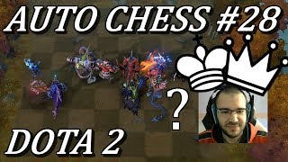 King/Queen Dan? Rook 9 Game For Rank | Auto Chess Gameplay Commentary #28 Dota 2