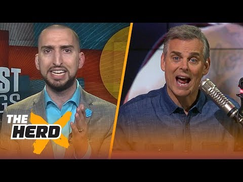 Nick Wright and Colin Cowherd disagree on LeBron's legacy if Celtics down Cavs | NBA | THE HERD