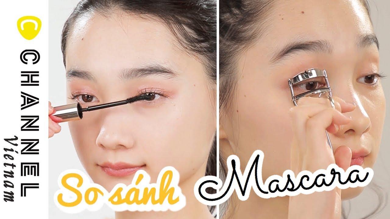 So sánh các loại mascara nền