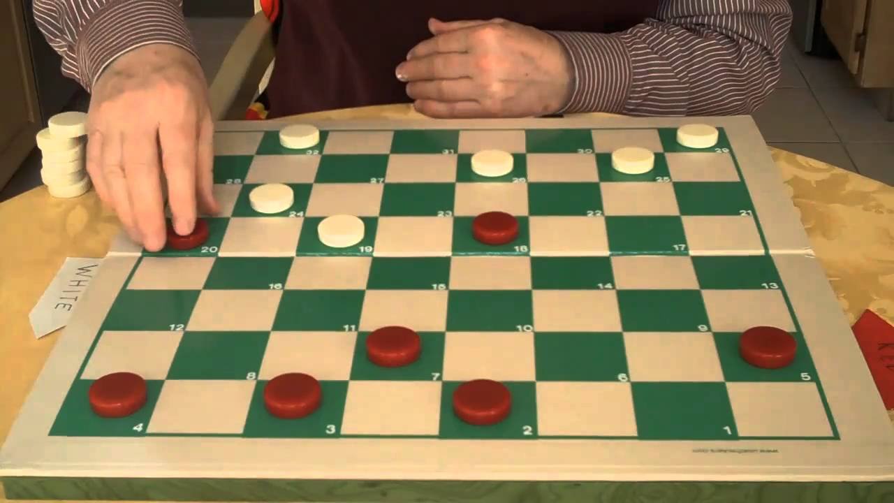 CHECKERS AND DRAUGHTS...PLAY YOUR OWN GAME - YouTube