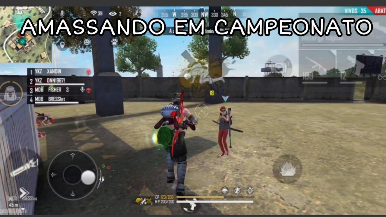 AMASSANDO EM CAMPEONATO FREE FIRE ||| POCOPHONE F1