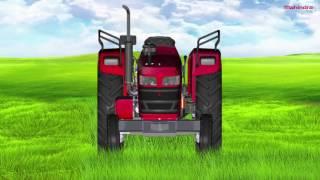 Mahindra Tractors - Mahindra Yuvo - 7 Engine Oil Level
