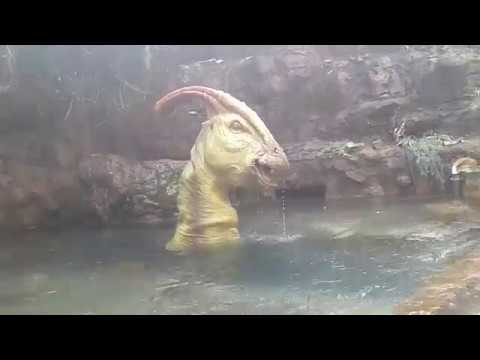 Jurassic Park River Adventure Parasaurolophus