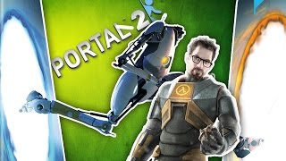 Let's Play PORTAL 2 and Talk About Making HALF-LIFE a Movie