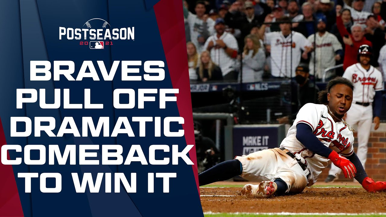 Download Braves pull off DRAMATIC late comeback, score two in the 8th and one in the 9th to beat the Dodgers!