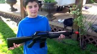 Airsoft A2 M16 spring review