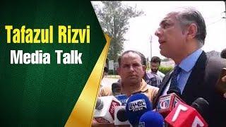 Tafazul Rizvi Media Talk about Nasir Jamshaid's Spot Fixing Case Verdict