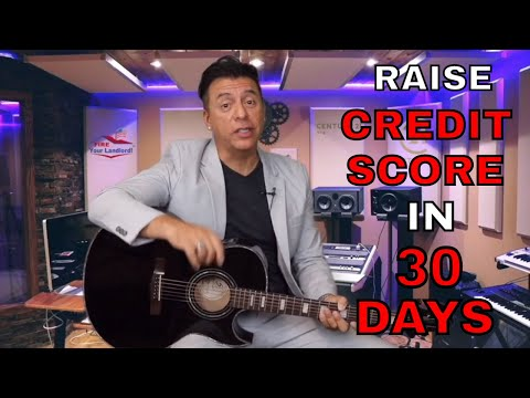 Raise your Credit Score! Credit Score Hacks 700 credit score in 30 days!