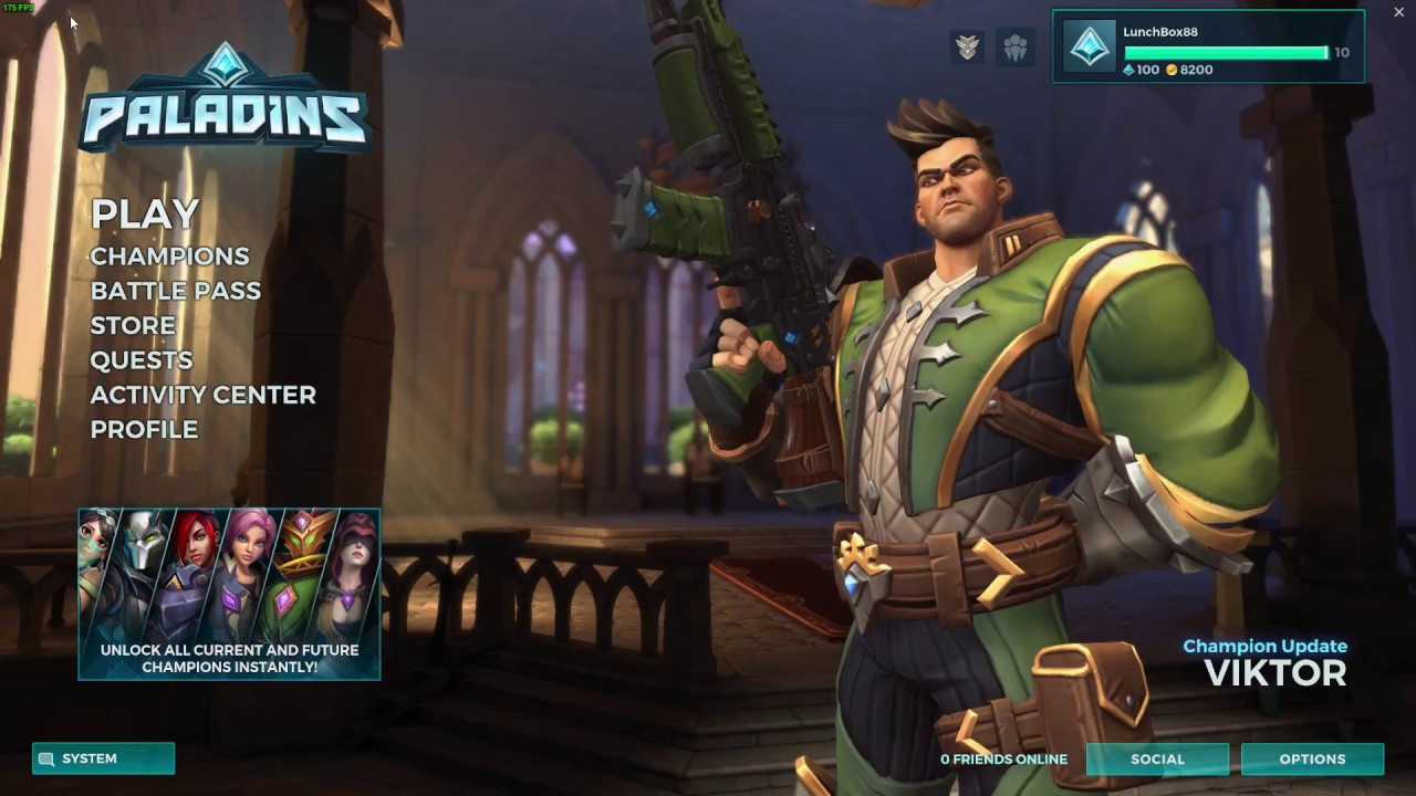 Paladins FPS Cap Fix  Easy to do