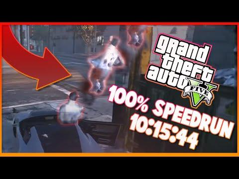 GTA V 100% 10:15:44 speedrun